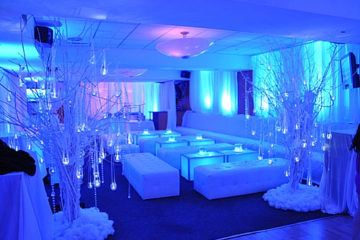 event enhacements, lighting, uplighting, class